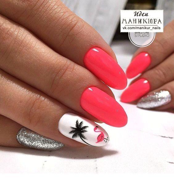 Schicke Sommer Nail Art – Nägel