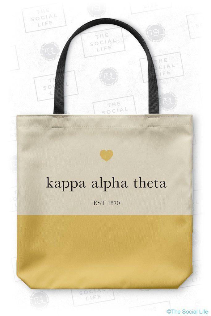 Kappa Alpha Theta Classy Tote Bag