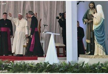 """El Papa en Tuxtla Gutiérrez: """"que la Familia, no se pierda por la precariedad y la soledad"""""""