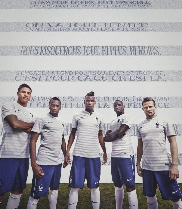 Футбольная форма сборной Франции