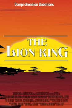"""This movie guide accompanies the movie """"The Lion King""""   The first part of this worksheet includes pre-watching tasks: • Drawing a lion and a king • Describing their drawings using adjectives • The teacher asks some questions about where lions are from and what other animals can be found there. (writes on the board) • While watching the movie, the students have space to write down any animals they see and any words they don't understand."""