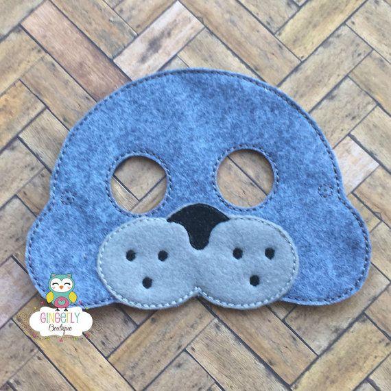 Pack of 6 Foam Eagle Masks Childrens Animal Fancy Dress