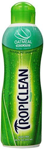 Best price on Tropiclean Oatmeal Medicated Pet Shampoo, 20 Ounce // See details here: http://healthlypetshub.com/product/tropiclean-oatmeal-medicated-pet-shampoo-20-ounce/ // Truly a bargain for the inexpensive Tropiclean Oatmeal Medicated Pet Shampoo, 20 Ounce // Check out at this low cost item, read buyers' comments on Tropiclean Oatmeal Medicated Pet Shampoo, 20 Ounce, and buy it online not thinking twice! Check the price and customers' reviews…