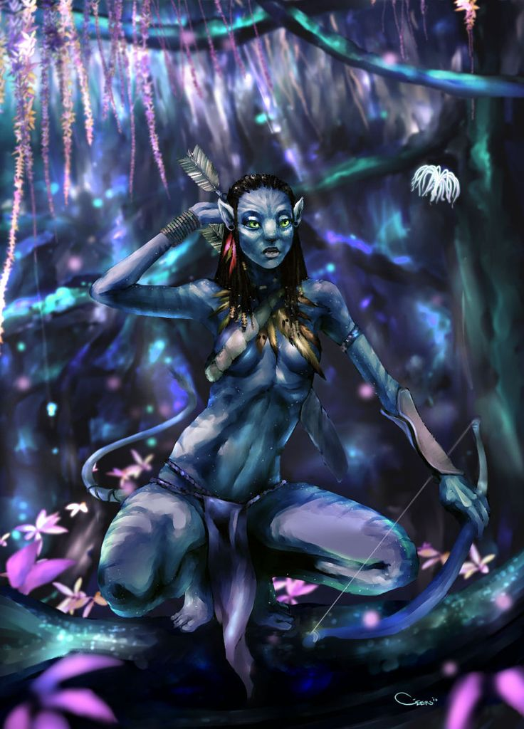 Neytiri by *DarrenGeers
