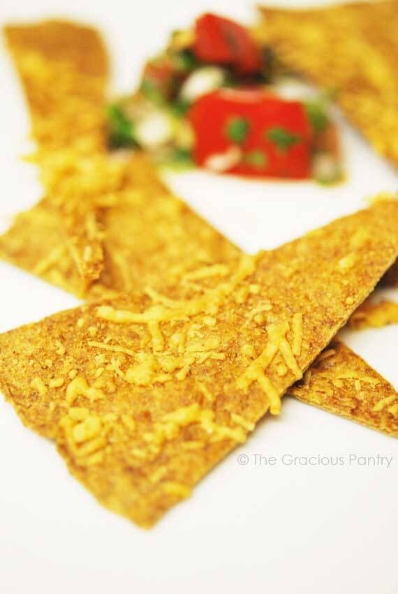 These Clean Eating Tortilla Chips are the perfect replacement for store-bought chips. Easy to make and so much better for you!!