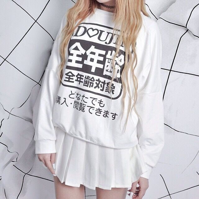 "Harajuku fleece pullover  Coupon code ""cutekawaii"" for 10% off"