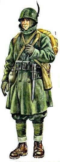 Italy WWII, Corpo Italiano di Spedizione in Russia, Alpino - pin by Paolo Marzioli