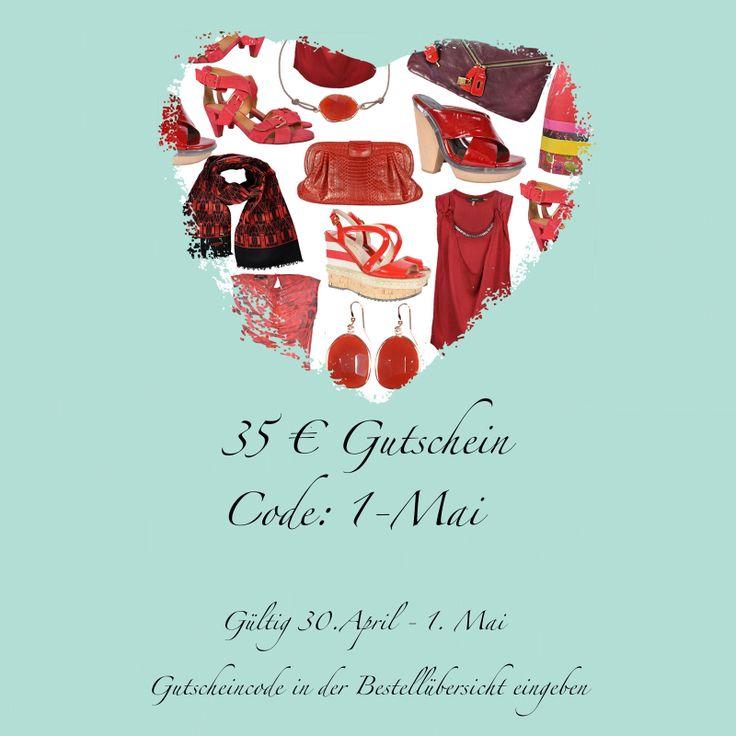 Juhu 1. Mai bzw. Feiertag! Um den Feiertag noch etwas zu versüßen haben wir einen 35 € Gutschein für Euch! www.mymint-shop.com  Der Gutschein gilt nicht für die Kategorien: PICCA, GIRLS DRAMS und SUPER SALE.