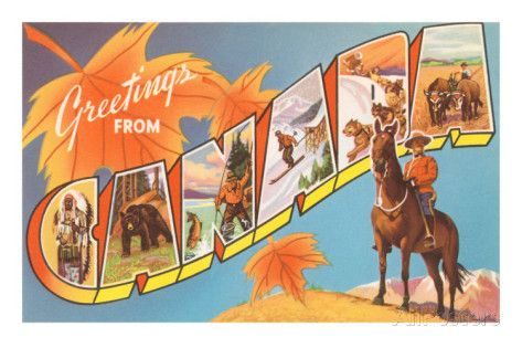 Greetings from Canada Posters - AllPosters.ca