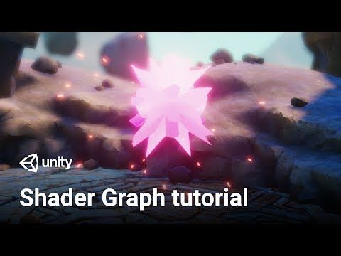 Making a Vertex Displacement Shader in Unity 2018 3! | Shader Graph