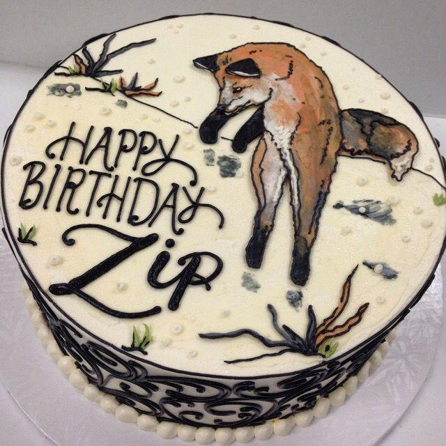 Foxy Buttercream cake