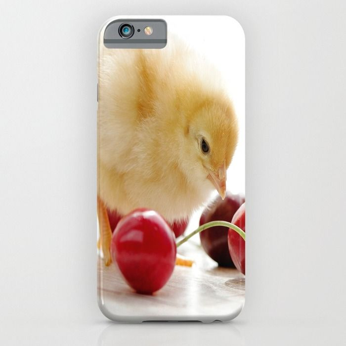 Sweet Chick and red Cherry iPhone & iPod Case