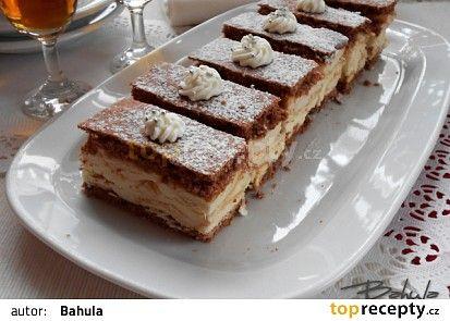 Řezy Amaretto recept - TopRecepty.cz