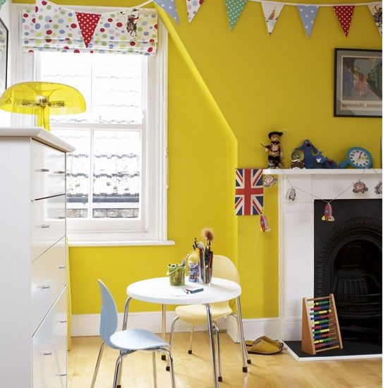 42 best Kids\' Rooms - Yellow images on Pinterest | Child room ...