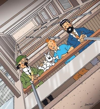 Kalkyl, Milou, Tintin & Haddock