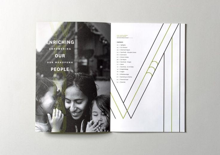 Best Awards - Insight Creative. / Ngati Whatua Orakei Annual Reports x3