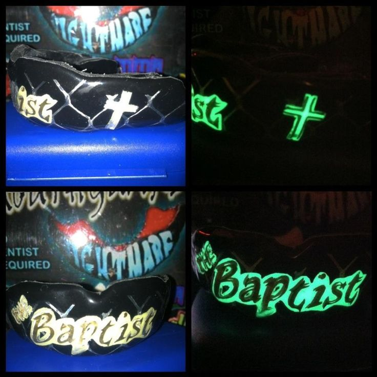 Glow in the dark for John the Baptist out of Slaughterhouse MMA
