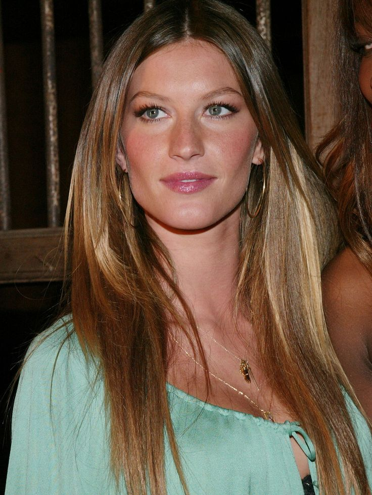 Hair and Makeup: Gisele B�ndchen   Inspira��es   Pinterest