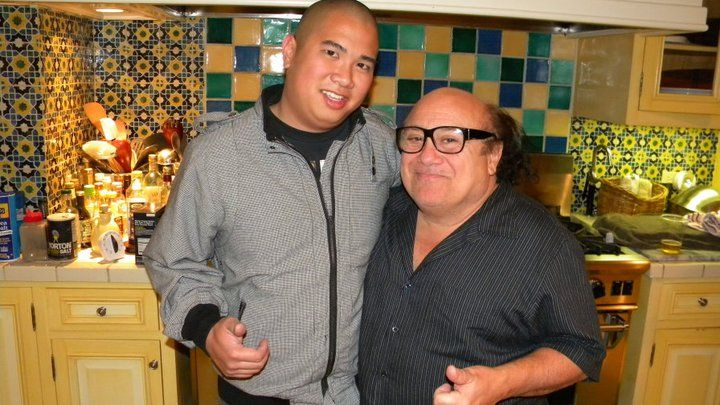 Dj'd Lucy Devito's Birthday at her house and met her dad Danny.