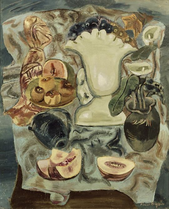 Still Life with Fruit Dishes, c.1937 - Frances Hodgkins (1869–1947)