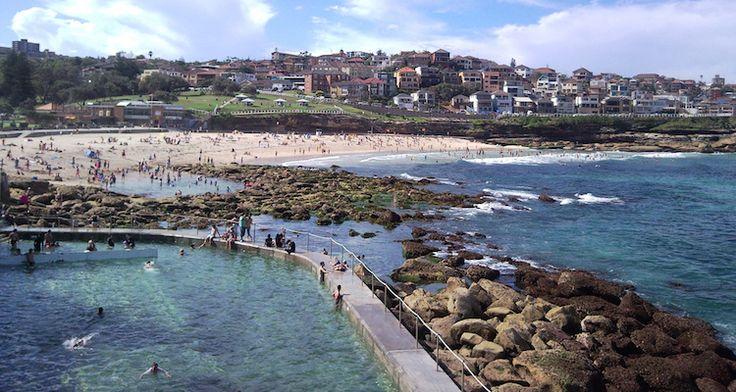 Bronte Pool, Sydney, Australia. Photo taken by MD11.