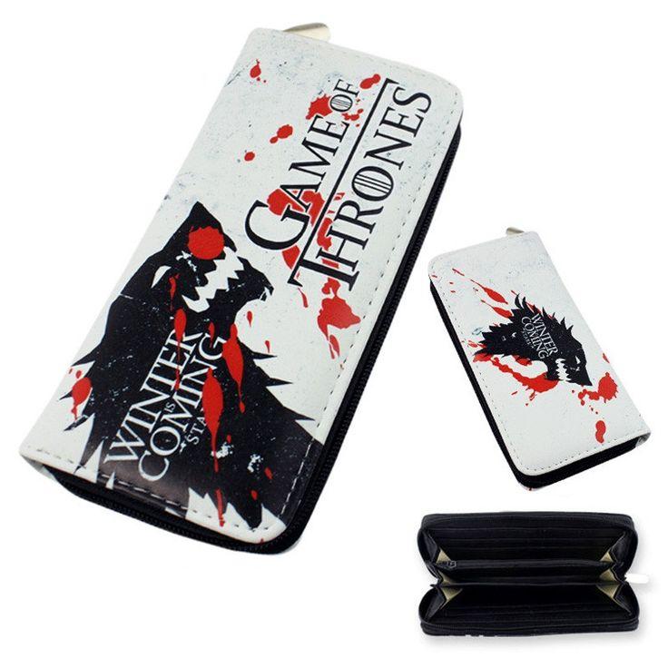 Game of Thrones Multifunction Long Wallet //Price: $19.98 & FREE Shipping //     #Game #stark #kings