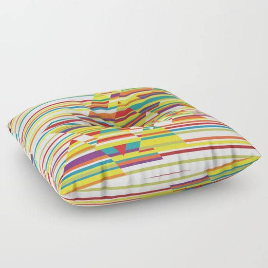 Colorful floor pillowfloor cushionfloor pillow