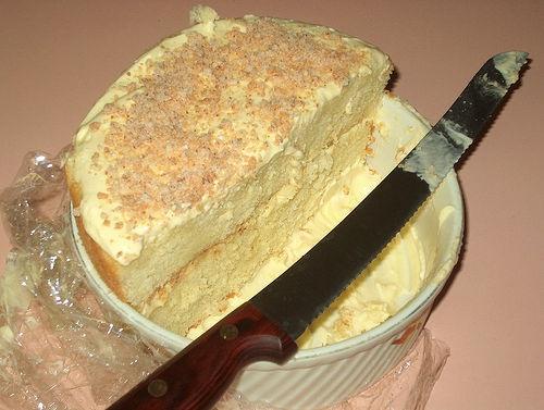 Lemon semifreddo cake | Cakes & Muffins ;0 | Pinterest