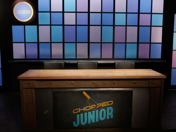 Judging in Style : Last, but not least, the judges' table has gotten a makeover with the series logo and a colorful lighted panel wall directly behind it.