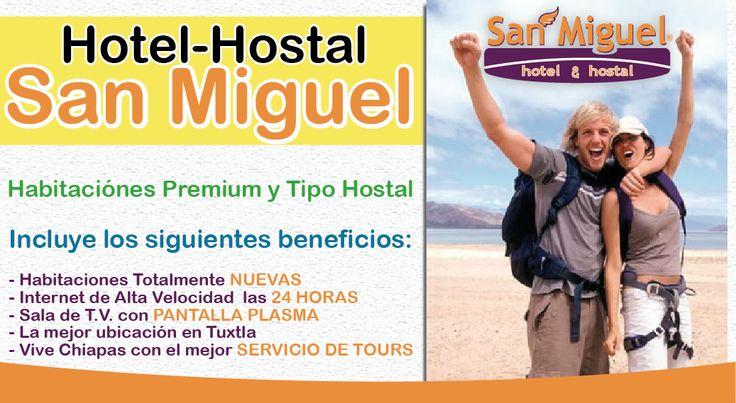 Hoteles en Tuxtla / Hotel Hostal San Miguel | hoteles en tuxtla