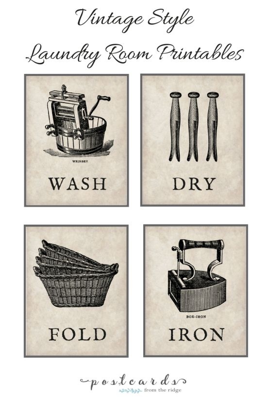 20+ Free Farmhouse Printables. Vintage Laundry RoomsLaundry Room ArtLaundry  DecorLaundry ... Part 38