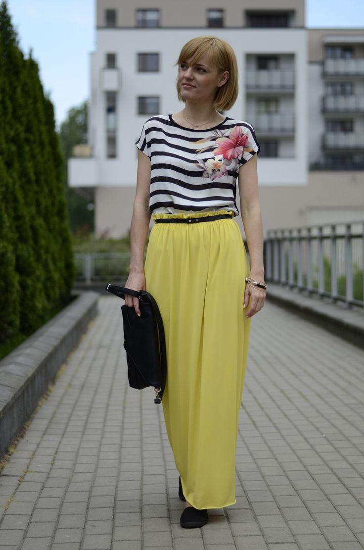 Maxi handmade skirt
