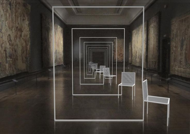 Render: Mimicry Chairs / Nendo