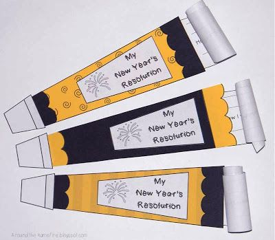writing assignment new year resolutions
