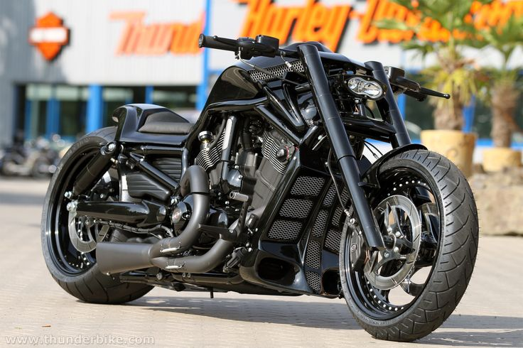#Thunderbike Black Rod (customized #Harley-Davidson Nightrod Special)