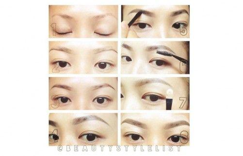 Top 10 Eyebrow Shapes For Asian Women | Asian woman, Shape ...