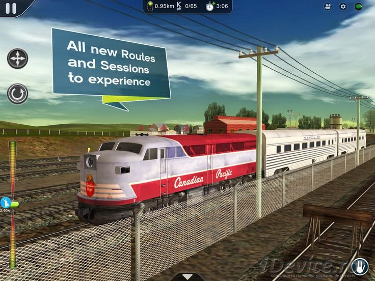 Trainz Simulator 2 a fost lansat in App Store (Video)