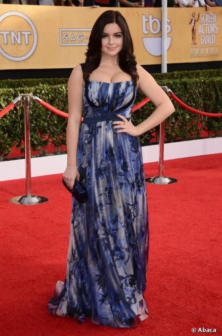 Modern Family's Ariel Winter during SAG Awards 2014...