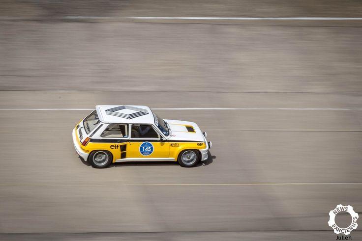 Renault 5 Turbo au Grandes Heures Automobiles. Reportage complet : https://newsdanciennes.com/2017/10/23/les-grandes-heures-automobiles-horlogerie-suisse-made-in-haute-savoie/