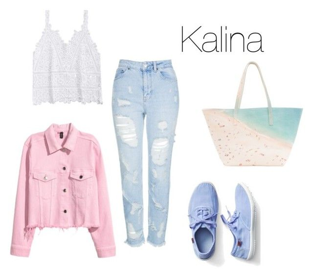 """Kalina chłodne lato"" by patsythehunter on Polyvore featuring moda, Topshop, Gap i Paige Gamble"