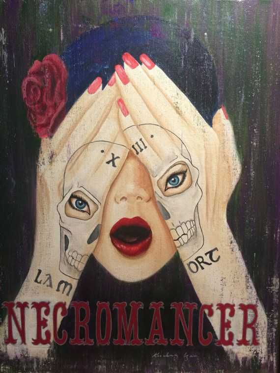 The Fortune Teller by PaintByLyons on Etsy