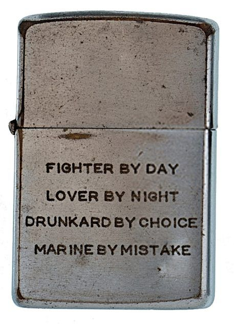 Soldier's zippo lighters from Vietnam War sold at auction. These are cool.