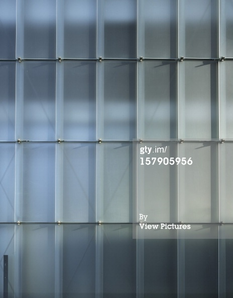 Kunsthaus Bregenz Bregenz Austria The semi-transparent facade is made from equally sized glass shingles.