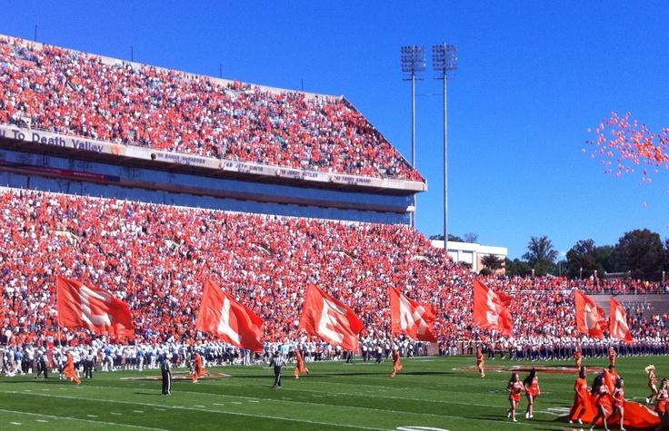 Clemson Football Games in Death Valley