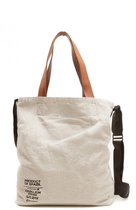 Osklen - BOLSA SACOLA LONA ECO GAE - mochilas e bolsas - acessórios - men