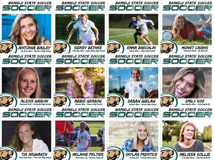 The Bemidji State soccer team welcomed 12 players into the family on 2016 National Signing Day. Check out bios, photos and coaches comments: http://bit.ly/20rmifF