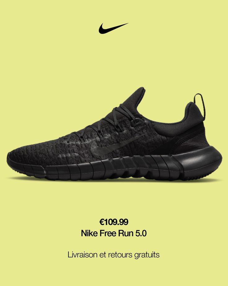 Chaussures de running Nike Free Run 5.0 pour Homme. Nike FR en ...