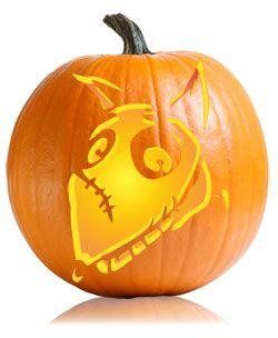 Chouette idée également pour la gravure avec Sparky de Frankenweenie - Halloween Disney Sparky Frankenweenie Pumpkin