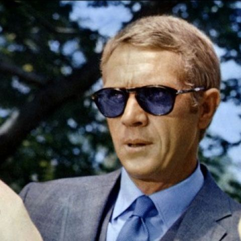 Steve 'Bamf' McQueen in Persol.