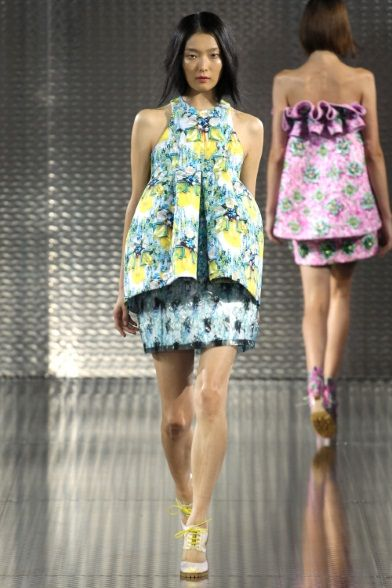Sfilata Mary Katrantzou Londra -  Collezioni Primavera Estate 2014 - Vogue